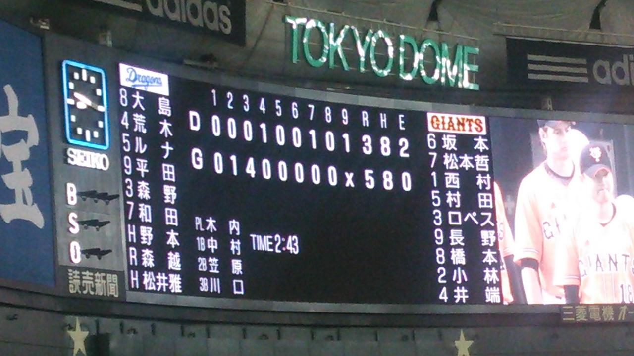 祝!関東開幕!岡田、長野に3点弾くらい散る